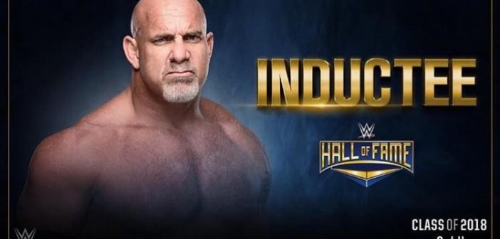 Goldberg entrará en el Salón de la Fama de WWE