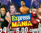 Express Mania presentará una triple amenaza de parejas: #PREVIA