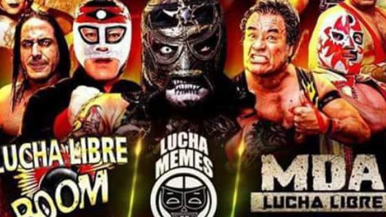 Lucha Libre Boom, Lucha Memes y MDA, en la López: #PREVIA