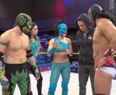 Pilar Pérez y Mauricio Pedroza entraron al Templo de Lucha Underground