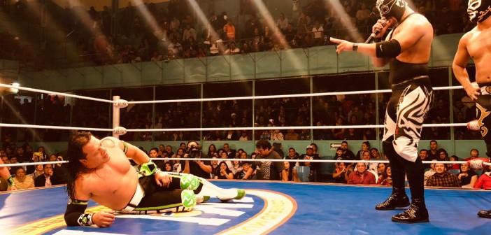Sansón retó a Último Guerrero por el campeonato completo
