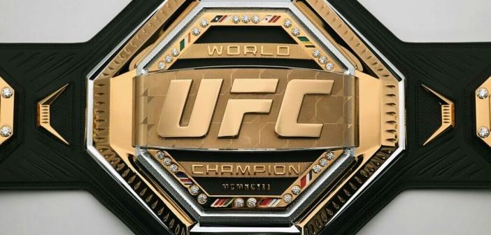 UFC tiene nuevo diseño de campeonatos