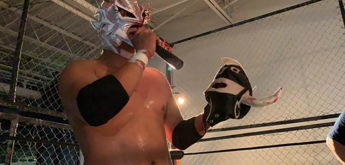 Skayde Junior perdió la máscara con Aero Boy