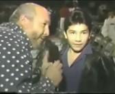 Hijo del Perro Aguayo…el niño que quiso ser luchador
