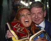 Así celebró Becky Lynch tras WrestleMania 35