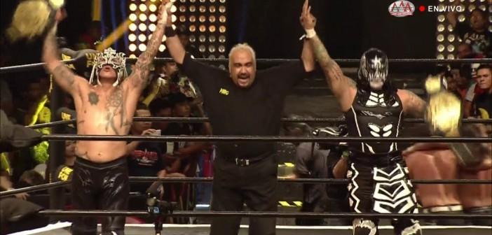 Los Lucha Brothers reconquistaron el Campeonato de Parejas de AAA